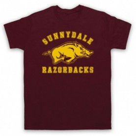 Buffy The Vampire Slayer Sunnydale Razorbacks T-Shirt T-Shirts