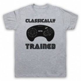 Classically Trained Mega Drive Console Controller T-Shirt T-Shirts