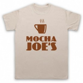 Curb Your Enthusiasm Mocha Joe's T-Shirt T-Shirts