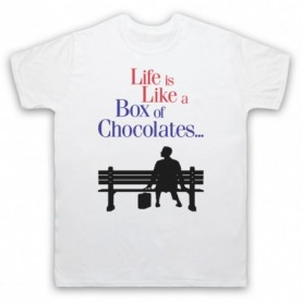 Forrest Gump Life Is Like A Box Of Chocolates T-Shirt T-Shirts