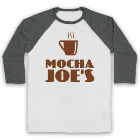 Curb Your Enthusiasm Mocha Joe's Baseball Tee Baseball Tees