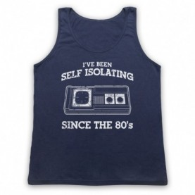 I've Been Self Isolating Since The 80's Master System Console Controller Tank Top Vest Tank Top Vests