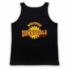 Buffy The Vampire Slayer Welcome To Sunnydale Tank Top Vest Tank Top Vests
