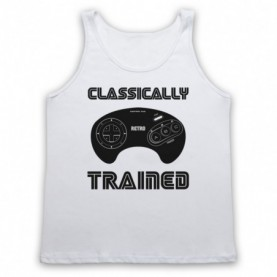 Classically Trained Mega Drive Console Controller Tank Top Vest Tank Top Vests