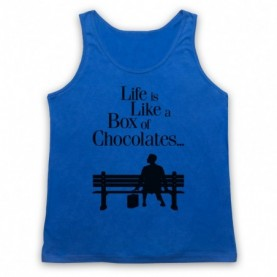 Forrest Gump Life Is Like A Box Of Chocolates Tank Top Vest Tank Top Vests