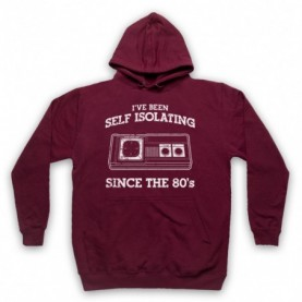 I've Been Self Isolating Since The 80's Master System Console Controller Hoodie Sweatshirt Hoodies & Sweatshirts