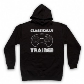 Classically Trained Mega Drive Console Controller Hoodie Sweatshirt Hoodies & Sweatshirts