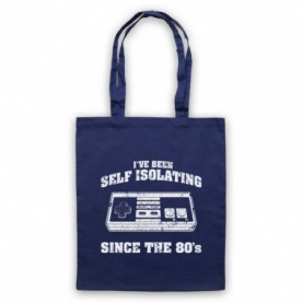 I've Been Self Isolating Since The 80's NES Console Controller Tote Bag Tote Bags