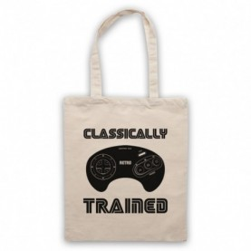 Classically Trained Mega Drive Console Controller Tote Bag Tote Bags