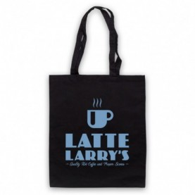 Curb Your Enthusiasm Latte Larry's Tote Bag Tote Bags