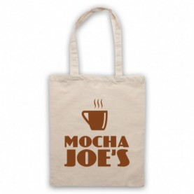 Curb Your Enthusiasm Mocha Joe's Tote Bag Tote Bags