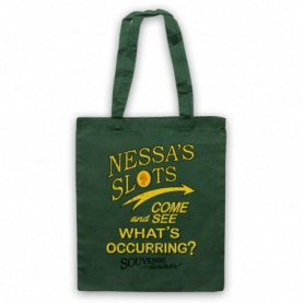 Gavin & Stacey Nessa's Slots Tote Bag Tote Bags
