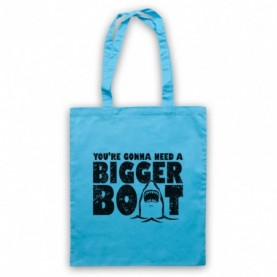 Jaws You're Gonna Need A Bigger Boat Tote Bag Tote Bags