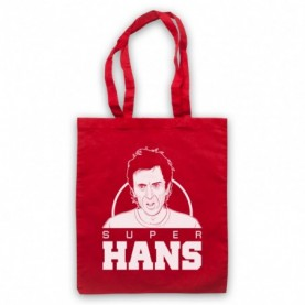 Peep Show Super Hans Tribute Tote Bag Tote Bags