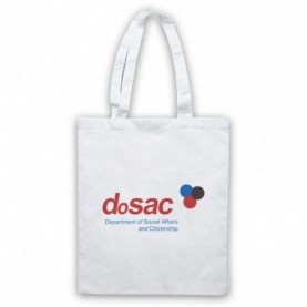The Thick Of It Dosac Department Of Social Affairs And Citizenship Tote Bag Tote Bags