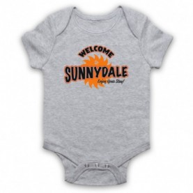 Buffy The Vampire Slayer Welcome To Sunnydale Baby Grow Bib Baby Grows & Bibs