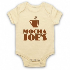 Curb Your Enthusiasm Mocha Joe's Baby Grow Bib Baby Grows & Bibs