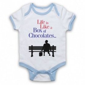 Forrest Gump Life Is Like A Box Of Chocolates Baby Grow Bib Baby Grows & Bibs