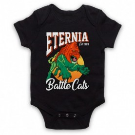 He-Man Eternia Battle Cats Sports Team Parody Baby Grow Bib Baby Grows & Bibs