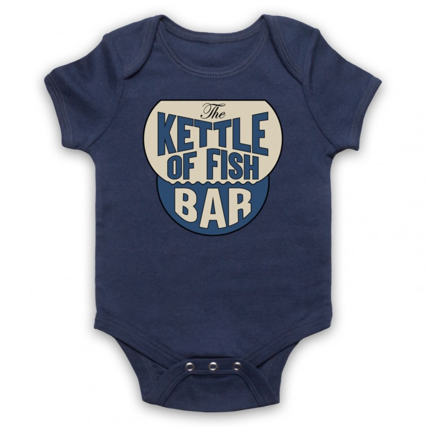 Marvellous Mrs Maisel The Kettle Of Fish Bar Baby Grow Bib Baby Grows & Bibs