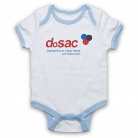 The Thick Of It Dosac Department Of Social Affairs And Citizenship Baby Grow Bib Baby Grows & Bibs