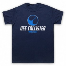 Black Mirror USS Callister Space Fleet T-Shirt T-Shirts