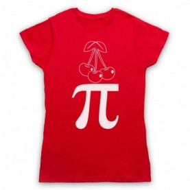 Cherry Pi Pie Maths Food Parody T-Shirt T-Shirts