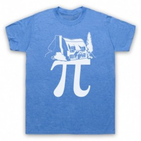 Cottage Pi Pie Maths Food Parody T-Shirt T-Shirts