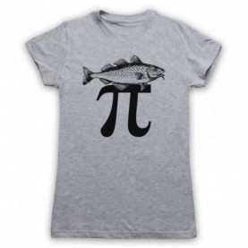 Fish Pi Pie Maths Food Parody T-Shirt T-Shirts