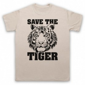 Save The Tiger Animal Rights Protest Slogan T-Shirt T-Shirts