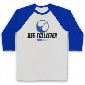 Black Mirror USS Callister Space Fleet Baseball Tee Baseball Tees