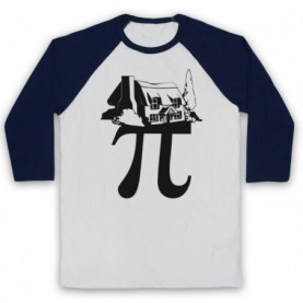 Cottage Pi Pie Maths Food Parody Baseball Tee Baseball Tees