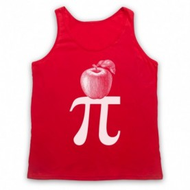 Apple Pi Pie Maths Food Parody Tank Top Vest Tank Top Vests