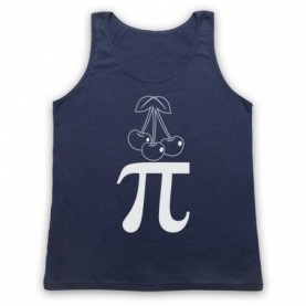 Cherry Pi Pie Maths Food Parody Tank Top Vest Tank Top Vests