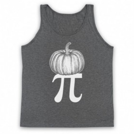 Pumpkin Pi Pie Halloween Maths Food Parody Tank Top Vest Tank Top Vests