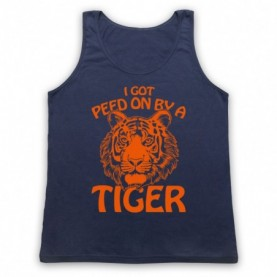 Tiger King I Got Peed On By A Tiger Tank Top Vest Tank Top Vests