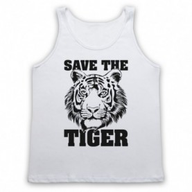 Save The Tiger Animal Rights Protest Slogan Tank Top Vest Tank Top Vests
