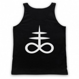 Castlevania Priory Monks Sulphur Hell Alchemy Symbol Tank Top Vest Tank Top Vests