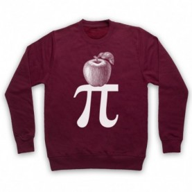 Apple Pi Pie Maths Food Parody Hoodie Sweatshirt Hoodies & Sweatshirts