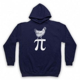 Chicken Pi Pie Maths Food Parody Hoodie Sweatshirt Hoodies & Sweatshirts