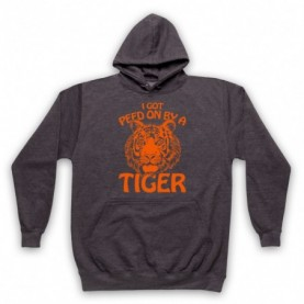 Tiger King I Got Peed On By A Tiger Hoodie Sweatshirt Hoodies & Sweatshirts