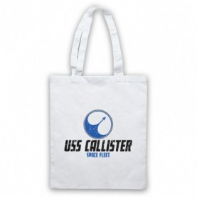 Black Mirror USS Callister Space Fleet Tote Bag Tote Bags