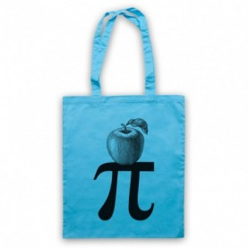 Apple Pi Pie Maths Food Parody Tote Bag Tote Bags