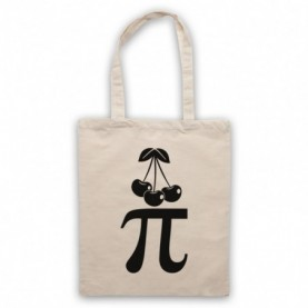 Cherry Pi Pie Maths Food Parody Tote Bag Tote Bags