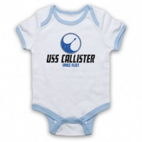 Black Mirror USS Callister Space Fleet Baby Grow Bib Baby Grows & Bibs