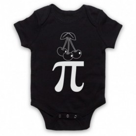 Cherry Pi Pie Maths Food Parody Baby Grow Bib Baby Grows & Bibs