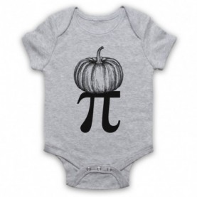 Pumpkin Pi Pie Halloween Maths Food Parody Baby Grow Bib Baby Grows & Bibs