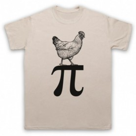 Chicken Pi Pie Maths Food Parody T-Shirt T-Shirts
