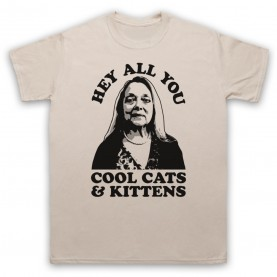 Tiger King Carole Baskin Hey All You Cool Cats & Kittens Mens Sand T-Shirt