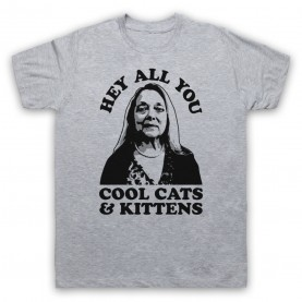Tiger King Carole Baskin Hey All You Cool Cats & Kittens Mens Heather Grey T-Shirt